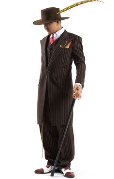 I can't help it - I love this zoot suit.