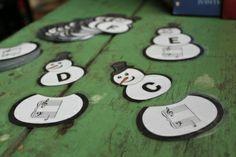 Snowmen Flashcards