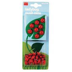 Amazon.com: Ladybud Pushpins: Office Products