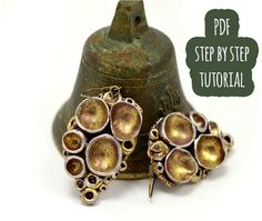 "PDF tutorial: ""old"" metal and wood effects on polymer clay"