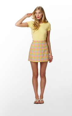 Lilly Pulitzer skirt - Cher Horowitz meets Marcia Brady? I want.