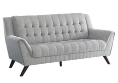 Flamingo Furniture | NY Furniture Store | 718-854-2900 | Brooklyn, NY | Brooklyn Furniture Market Baby Natalia Dove Grey Sofa