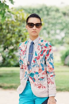 Esther Quek fashion director of The Rake and Revolution magazines (via Trill Wave Feminism)