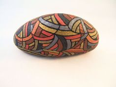 Unique Collectible Art Painted Rocks 3D Art Rustic by IshiGallery