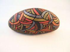 Arte da collezione unica verniciato rocce 3D Art di IshiGallery