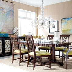 Pinrisa Stacy On Red Dining Rooms  Pinterest  Dining Room Fair Ethan Allen Dining Rooms Inspiration Design