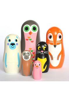 Animal Nesting Dolls - $38