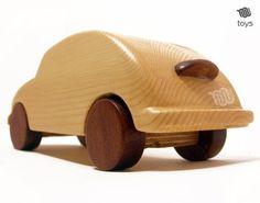 Jouet en bois Volkswagen Beetle