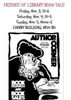 Come for the books and meet some authors.