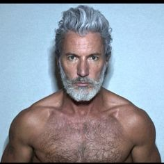 Men's Toupee Hair Hairpieces for Men inch Thin Skin Hair Replacement System Monofilament Net Base Mix Grey Hair) Hairy Men, Bearded Men, Men Beard, Beard Images, Handsome Older Men, Older Man, Mens Toupee, Grey Beards, Men With Grey Hair