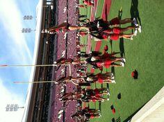 U of L cheerleading!