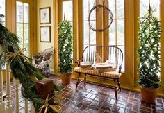 Colorful Christmas in a Colonial | Traditional Home