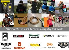 Ten OCR brands have come together to give away over $500 in prizes every day between 12/3 to 12/10. Have you entered this competition yet to win?