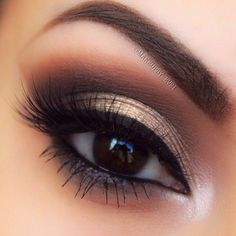 Eye make up Makeup Goals, Makeup Inspo, Makeup Inspiration, Makeup Tips, Makeup Ideas, Kiss Makeup, Cute Makeup, Pretty Makeup, Make Up Yeux