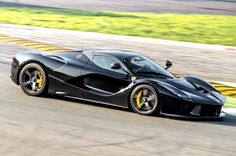 ◆ Visit ~ MACHINE Shop Café ◆ (Black Ferrari LaFerrari Supercar)