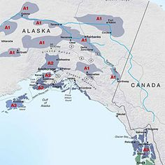 Gardening climate zones: Alaska