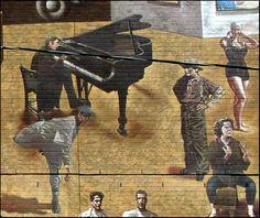 Glenn Gould et Marylin Bell, Fresque murale du Toronto Sun