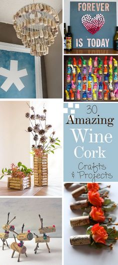 Amazing Wine Cork Crafts and Projects!