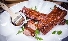 Home & Family - Recipes - Chef Dean Sheremet's 4th of July No Grill Ribs | Hallmark Channel