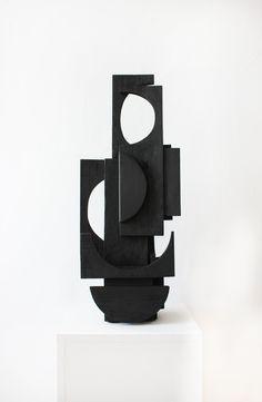 sculpture other side. Abstract Sculpture, Sculpture Art, Geometric Sculpture, Wood Wall Art, Canvas Wall Art, Wood Mosaic, Abstract Shapes, Art Object, Wall Sculptures
