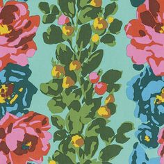 Amy Butler Eternal Sunshine - Rose Vine (Lake) : Crimson Tate :: Modern Quilter