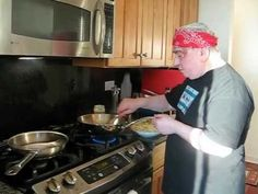 Interesting Pasta Chicken Alfredo -Cooking with The Chef Luciano South Loop Chicago