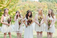 Read More: http://www.stylemepretty.com/2014/05/09/charitable-wedding-on-a-2000-budget/