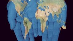 The world is in the palm of your hand