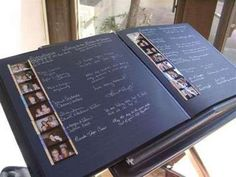 guestbook  sticker pictures!