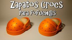 ZAPATOS CROCS (SUECOS) PARA FOFUCH@S - GOMA EVA