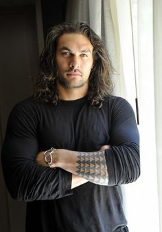 Jason Momoa - got to meet him at Dragon Con. Got a piece of gum from him :D  He is so nice and hilarious! He was my favorite thing about Dragon Con.