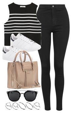 """Style #10098"" by vany-alvarado ❤ liked on Polyvore featuring Topshop, Zara, adidas, Balenciaga and ASOS"