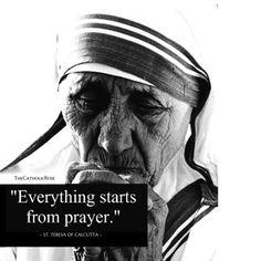 Mother Teresa Always have stronger faith on god💐 Catholic Quotes, Catholic Prayers, Catholic Saints, Religious Quotes, Mother Theresa Quotes, Saint Teresa Of Calcutta, Saint Quotes, Santa Teresa, We Are The World
