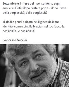 Francesco Guccini - settembre