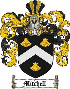 mitchell british family coat of arms