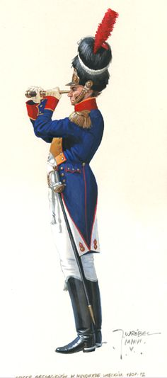 4 Infantry Regiment officer grenadiers