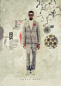 Kike Besada (via Design Work Life) - these collage/texture-y pieces are particularly amazing.