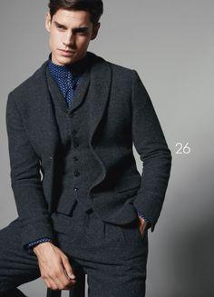 Giorgio Armani Fall Winter 2015 Otoño Invierno - #Menswear #Trends #Tendencias #Moda Hombre
