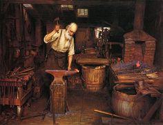 Jefferson David Chalfant - The Blacksmith 1900/1907