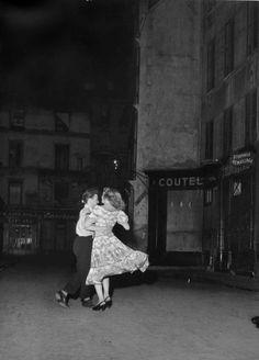 La Derniere Valse du 14 Juillet, 1949, a photo by Robert Doisneau