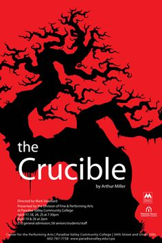 the red scare as the reason for writing the crucible Read this full essay on arthur miller's the crucible vs the red scare  these  include the reasons for which arthur miller wrote the play, and various themes.