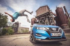 Back in May @nissan & @nissaneurope flew me to Landschaftspark Duisburg a former ironworks in Germany to shoot their shiny new Qashqai. There I spent the day doing daft things with @urbanamadei a seasoned professional in the world of freerunning who made this job run incredibly smoothly. The location was amazing - thank you to director @ingo_wilhelm and the team at Nissan Magazin for choosing it! . Im back in Germany in two weeks - Berlin is the venue for my next parkour photography workshop…