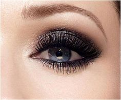 smokey eye for blue eyes. for any color eyes