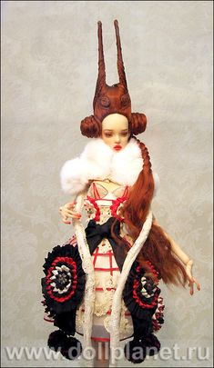 The Popovy Sisters – fantastic doll creations by Elena and Ekaterina
