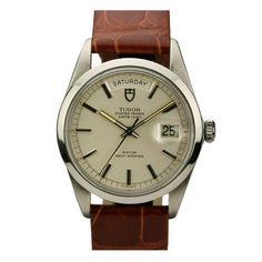 Tudor Stainless Steel Oyster Prince Date Day Ref 7017