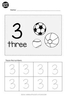30 best free pre k math worksheets and activities images on free pre k number 3 tracing worksheet ibookread ePUb