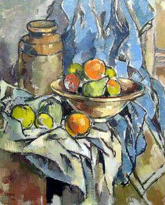 Still life with fruit - Gregoire Boonzaier, 1956 Still Life Fruit, South African Artists, Oil Painters, Art Database, New Artists, Artist At Work, Impressionism, Illustration Art, Artwork