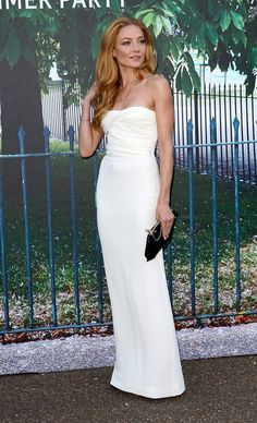 Pin for Later: London's Most Stylish Celebs Hit the Serpentine Summer Party Clara Paget