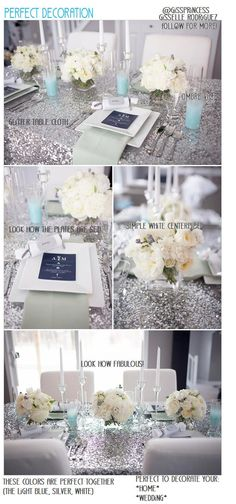 THIS IS so fab! A BEAUTIFUL decoration, that can be used for a wedding or even your home. Im thinking CHRISTMAS!!!  The colors go together so well, that its just perfect.