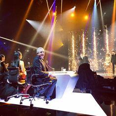Hello Louis! Front row X-Factor semi-finals.